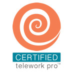 ConnectspaceVI Certified telework pro logo