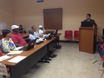Moises Peña addresses St. Croix attendees of Banco Popular Financial Literacy workshop