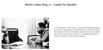 Martin Luther King, Jr. | Leader for Equality (PBS Learning Media)