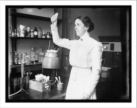 Microbiologist Alice Catherine Evans discovered the connection between microbes and illness.