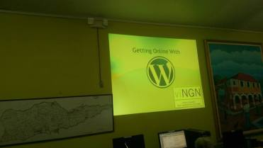 Getting Online with Wordpress!