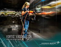 The FORTIS exoskeleton by Lockheed Martin