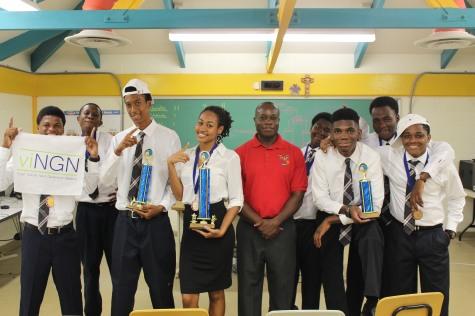 Photo courtesy of St Joseph Catholic High School, St. Croix USVI