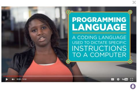 Jasmine, a software engineer at Zillow, explains programming as part of Code.org's AppLab