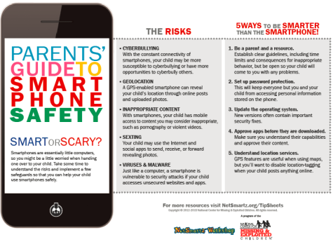NetSmartz holiday tips: Be Smartphone Savvy, Benefits of