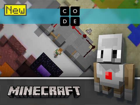 Hour of Code Minecraft 2017