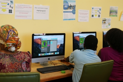 Photos: Hour of Code, RecoveryStyle!