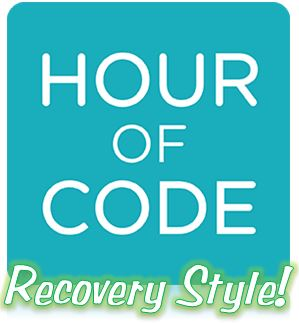 Hour of Code Recovery Style image