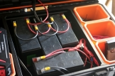 UPS batteries in solar generator