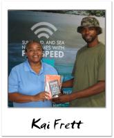 viNGN's Anita Davis with winner Kai Frett