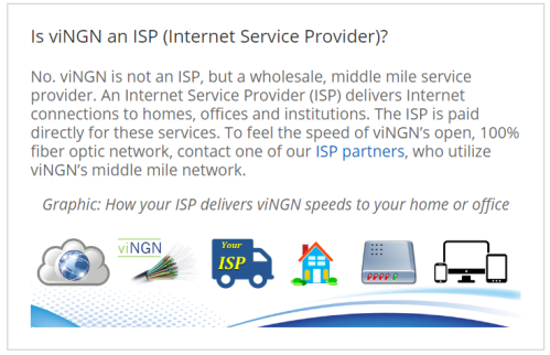 vingn is not an isp graphic