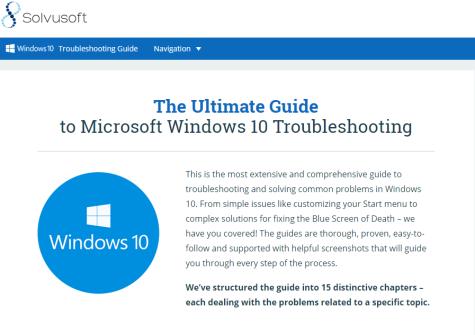 solvusoft windows 10 guide screenshot