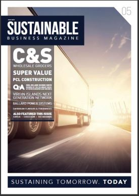 Sustainable Business Magazine cover